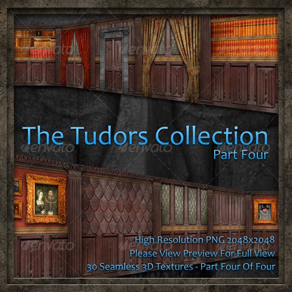 The Tudors Collection - Part Four Of Four - 3DOcean Item for Sale