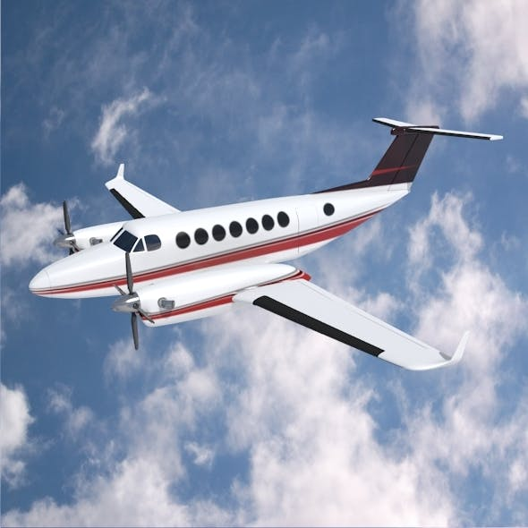 Beech craft King Air 350 propeller aircraft