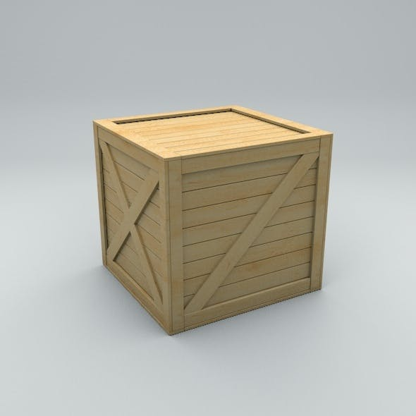 Old Wooden Box - 3DOcean Item for Sale