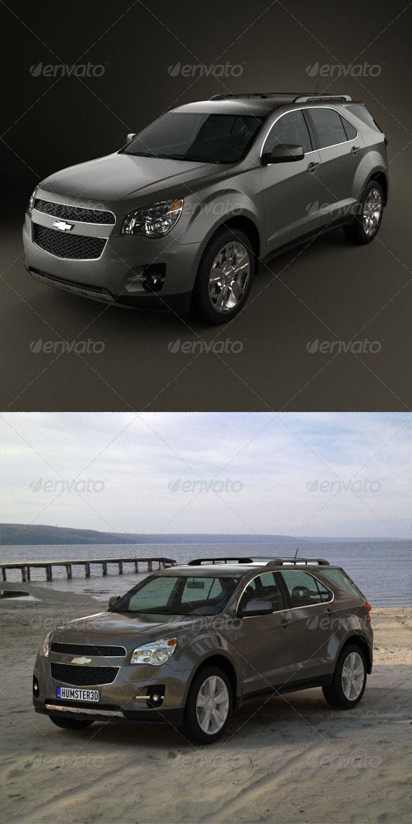 Chevrolet Equinox 2010  - 3DOcean Item for Sale