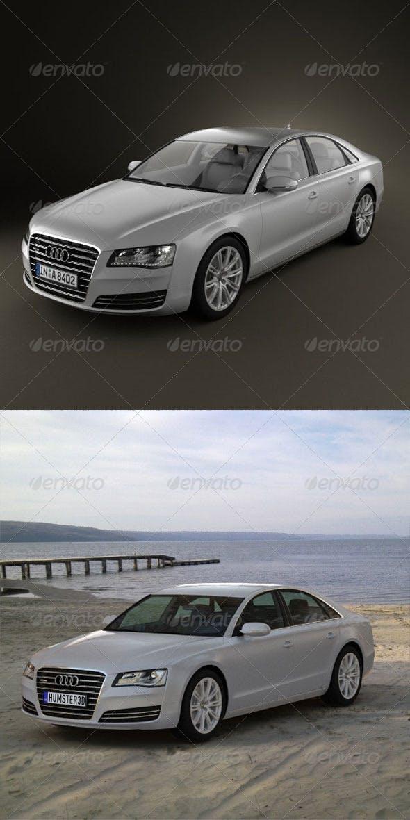 Audi A8 2010  - 3DOcean Item for Sale