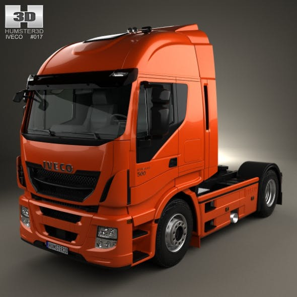 Iveco Stralis (500) Tractor Truck 2012