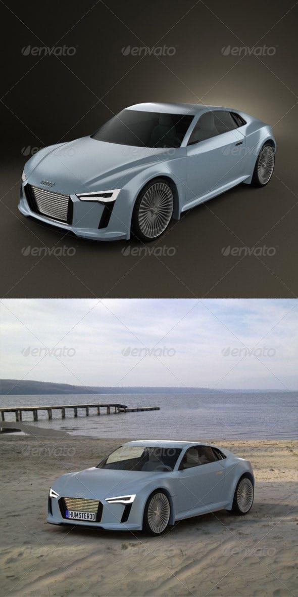 Audi e-tron Concept  - 3DOcean Item for Sale