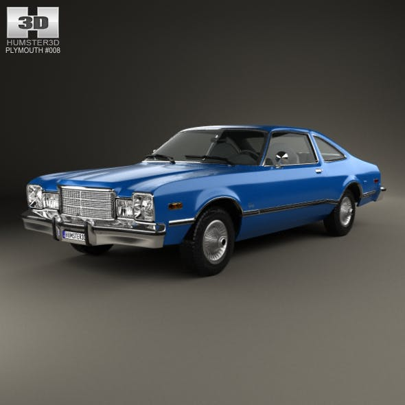 Plymouth Volare coupe 1977 - 3DOcean Item for Sale