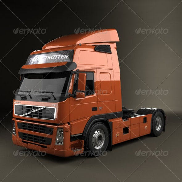 Volvo Tractor FM  - 3DOcean Item for Sale