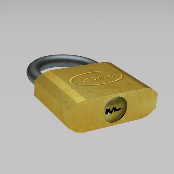 Padlock - 3DOcean Item for Sale