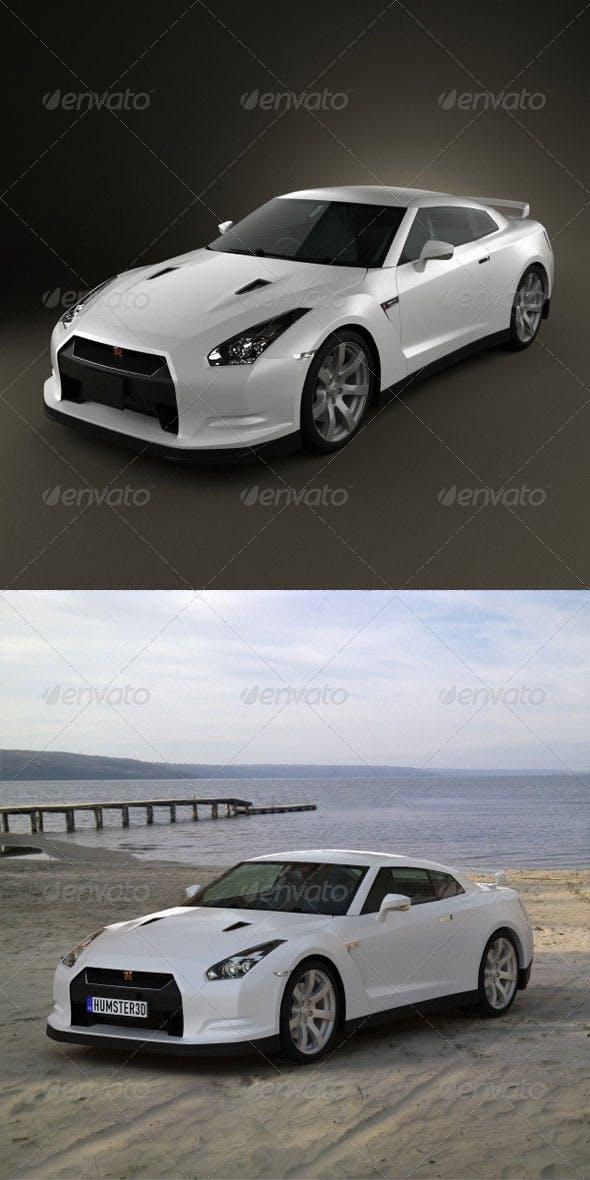 Nissan GT-R  - 3DOcean Item for Sale