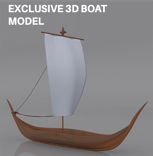 Sail Boat Model - 3DOcean Item for Sale