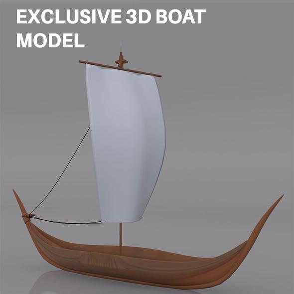 Sail Boat Model