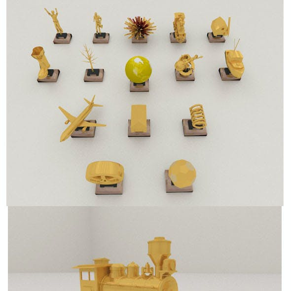 Trophies collection