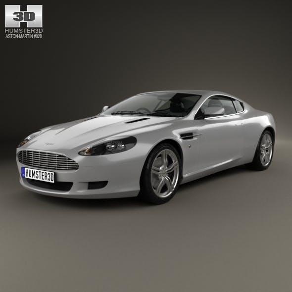 Aston Martin DB9 2004 - 3DOcean Item for Sale