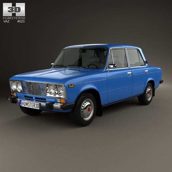 VAZ Lada 2106 1976 - 3DOcean Item for Sale