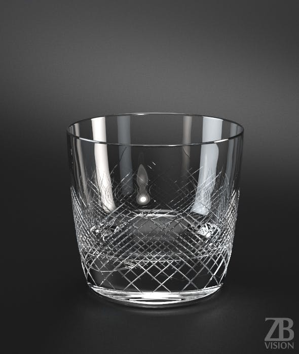 Whisky glass - 3DOcean Item for Sale