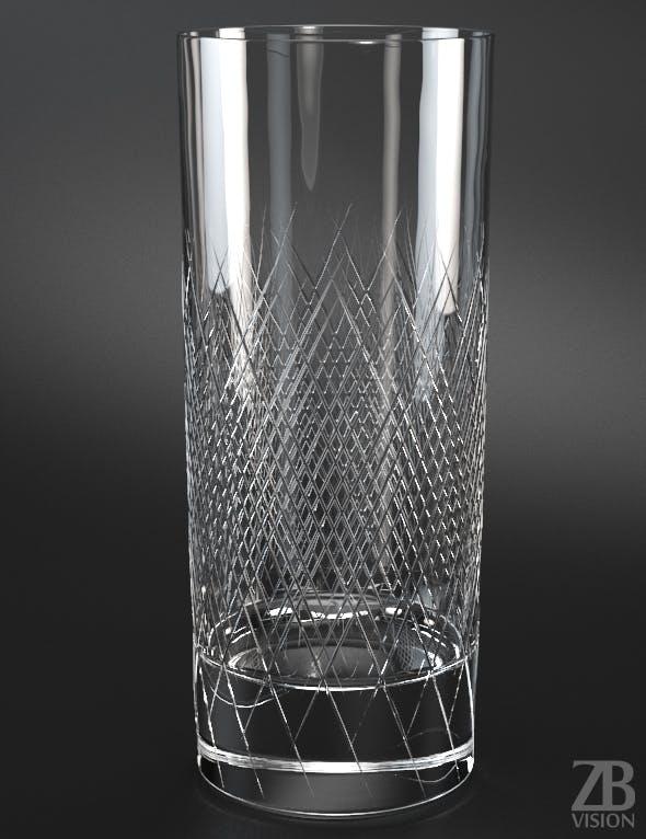 Longdrink Large Glass - 3DOcean Item for Sale