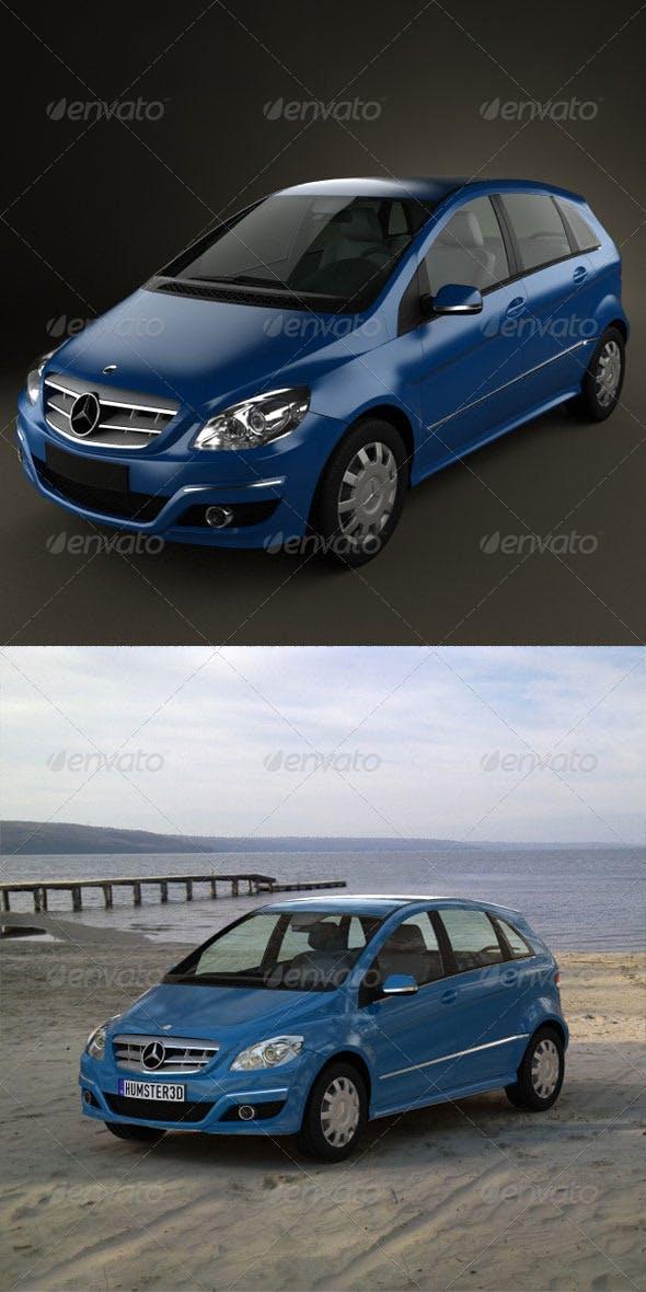 Mercedes B class  - 3DOcean Item for Sale