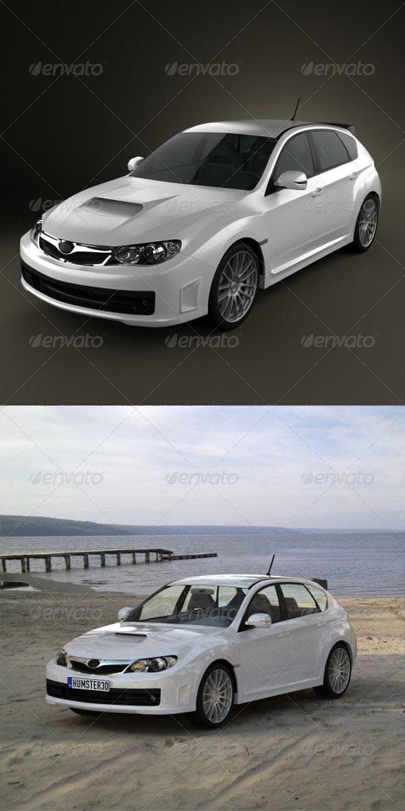 Subaru Impreza WRX STI  - 3DOcean Item for Sale