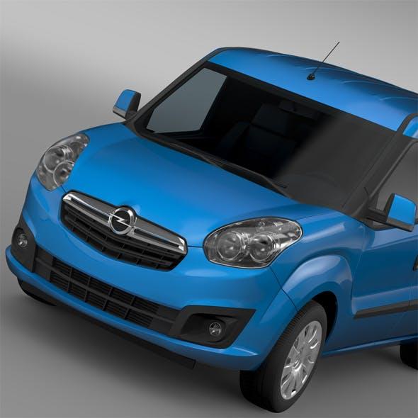Opel Combo SWB Cargo 2015 (D) - 3DOcean Item for Sale