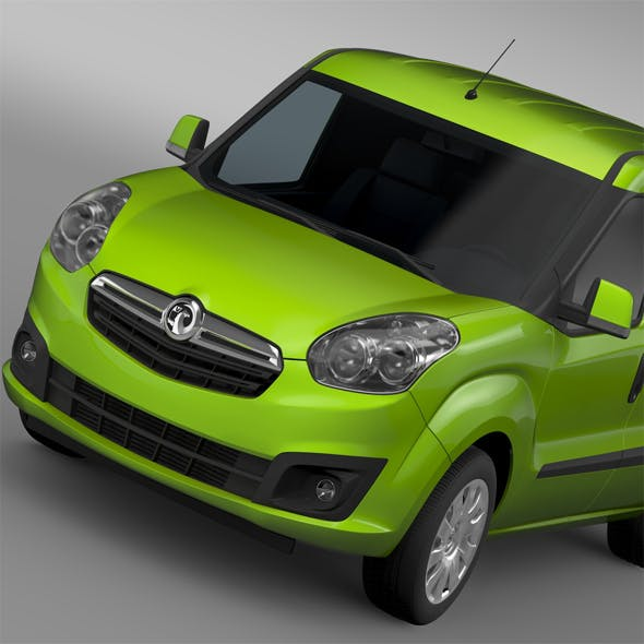Vauxhall Combo H1L1 Cargo 2015 - 3DOcean Item for Sale
