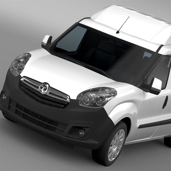 Vauxhall Combo H2L2 Cargo 2015 - 3DOcean Item for Sale
