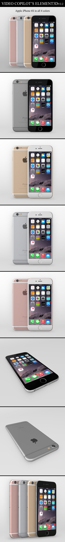 Element3D - iPhone 6S - 3DOcean Item for Sale