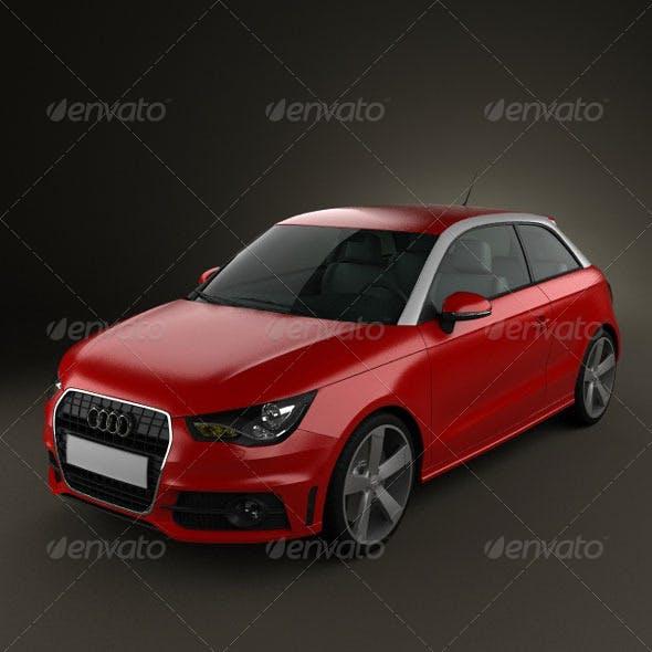 Audi A1  - 3DOcean Item for Sale