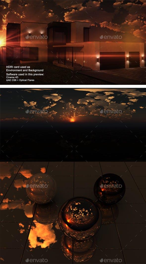 Sunset Desert 34 - 3DOcean Item for Sale