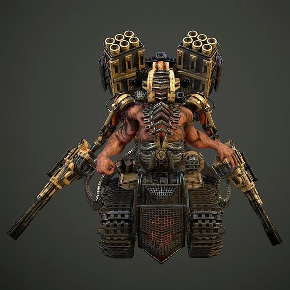 Sci-Fi CyborgDestroyer