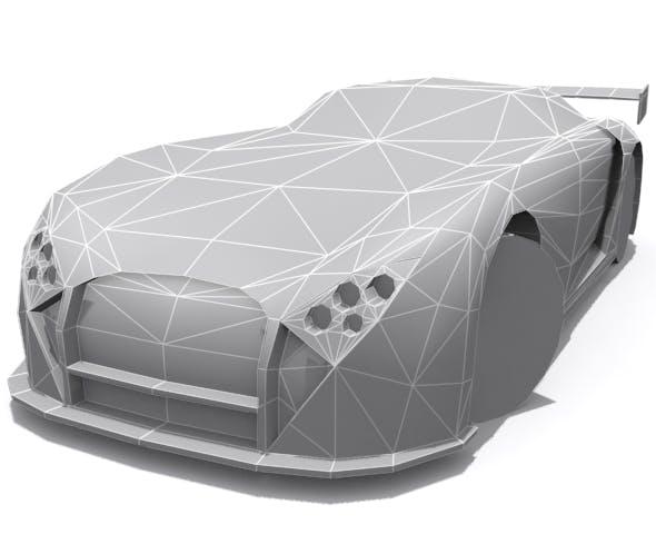 TVR Cerbera Speed 12 GT-R - Base - 3DOcean Item for Sale