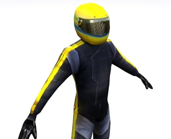 Race Driver - 3DOcean Item for Sale