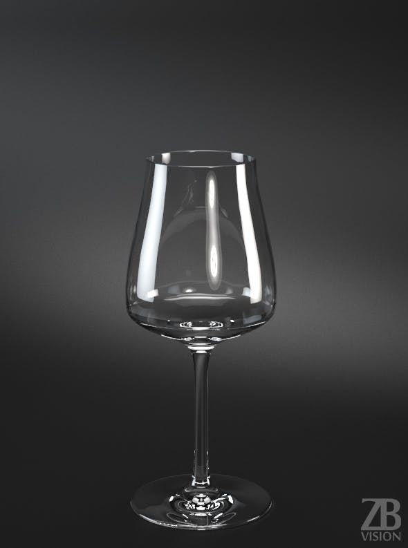 Mineral Water Glass - 3DOcean Item for Sale
