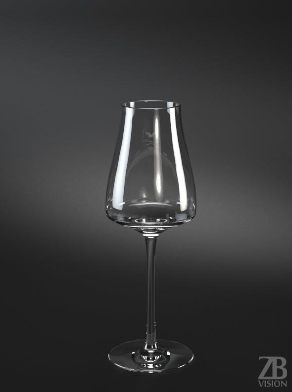 Sauternes White Wine Glass - 3DOcean Item for Sale