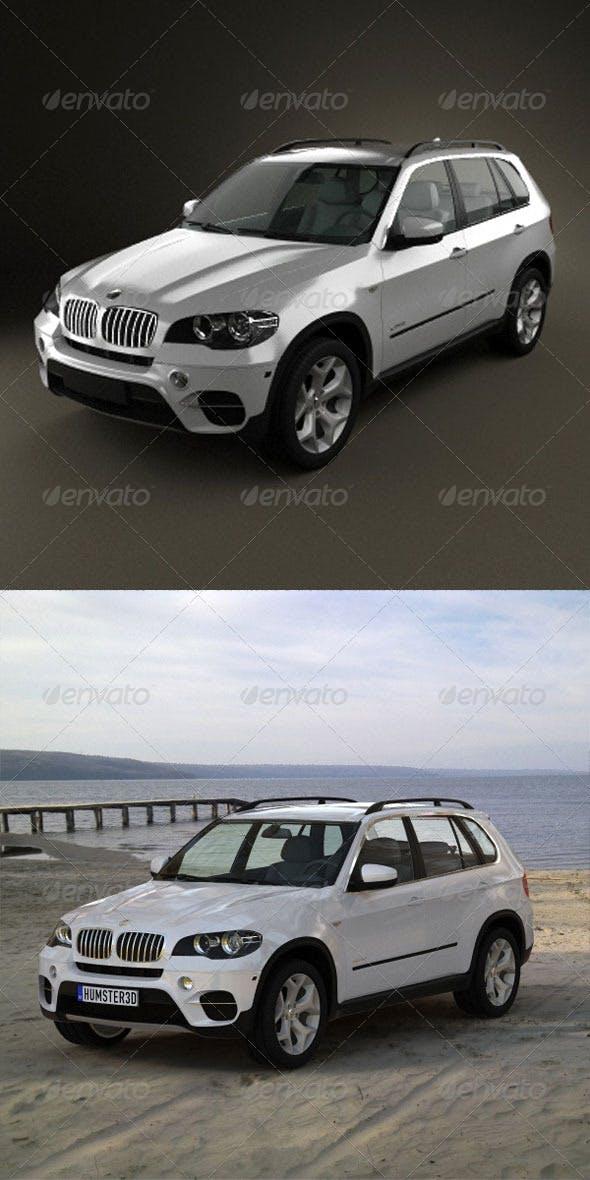 BMW X5 2011  - 3DOcean Item for Sale