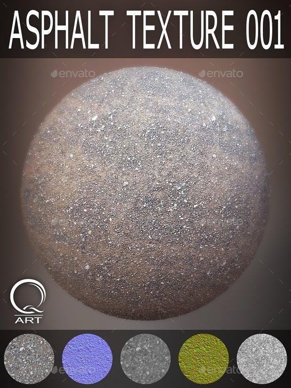 Asphalt Textures 001 - 3DOcean Item for Sale