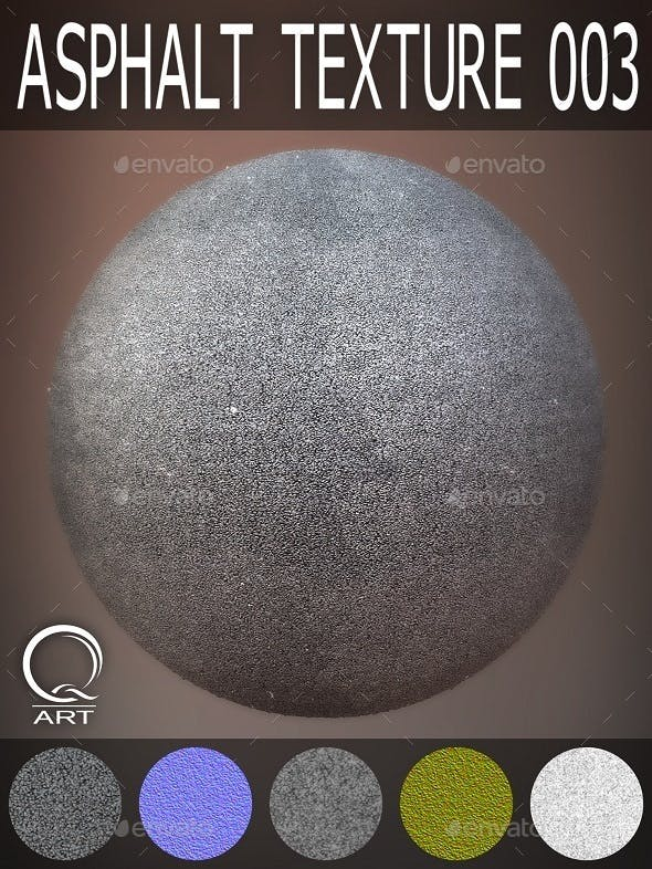 Asphalt Textures 003 - 3DOcean Item for Sale