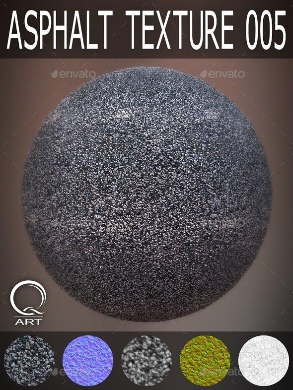 Asphalt Textures 005 - 3DOcean Item for Sale