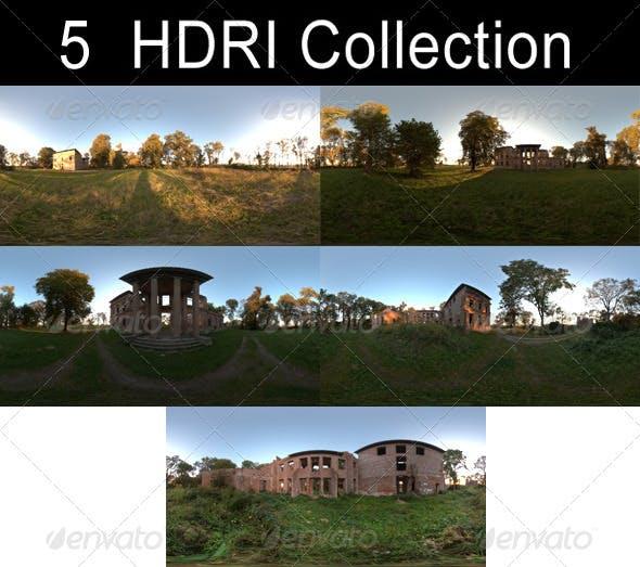 HDRi Pack - Ruin - 3DOcean Item for Sale