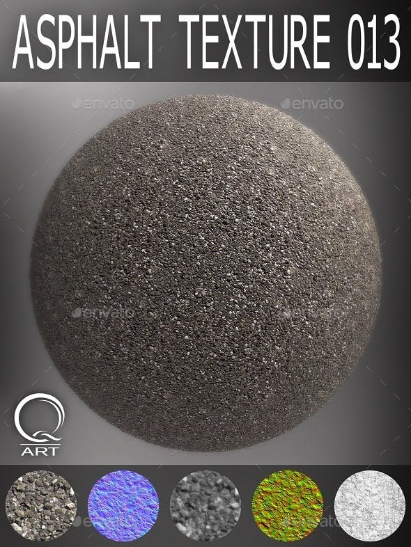 Asphalt Textures 013 - 3DOcean Item for Sale