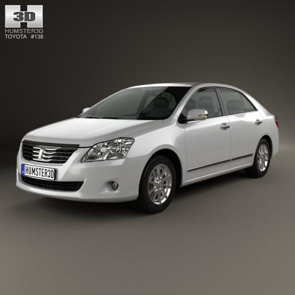Toyota Premio 2010 - 3DOcean Item for Sale