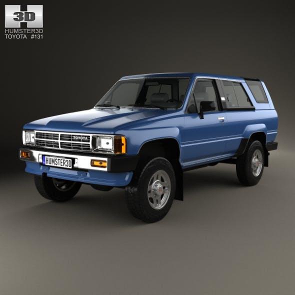 Toyota 4Runner 1986 - 3DOcean Item for Sale
