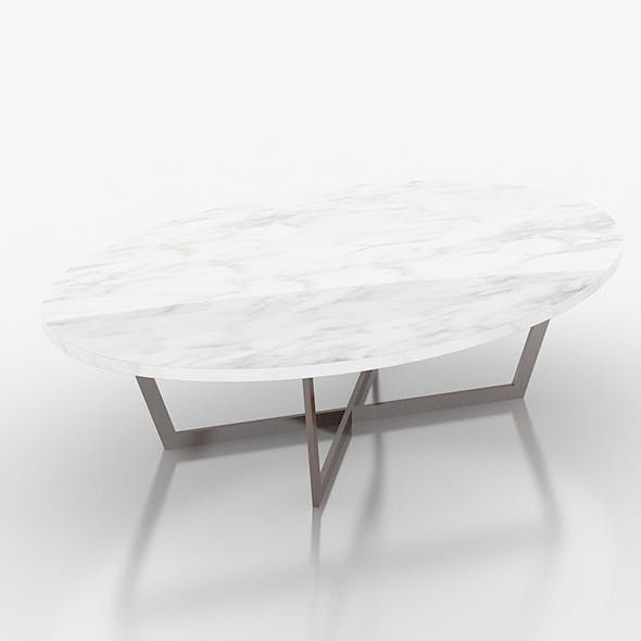 Stone marble sofa table
