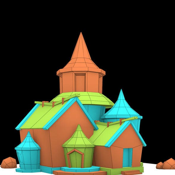 Cartoon House 1 model