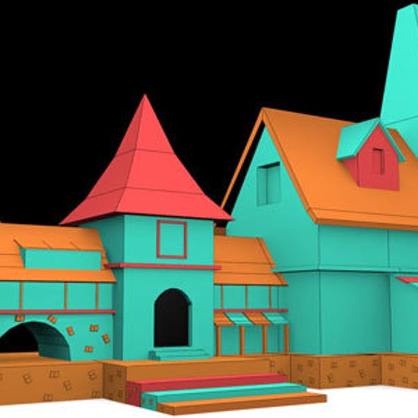 Cartoon Duplex Model