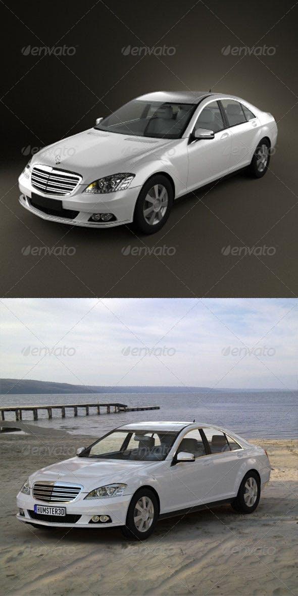 Mercedes-Benz S class  - 3DOcean Item for Sale