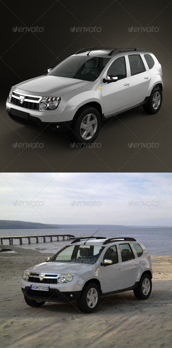 Renault Duster  - 3DOcean Item for Sale