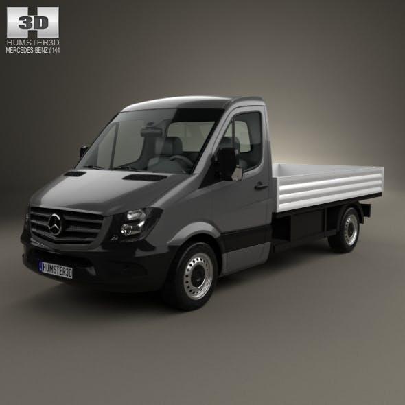 Mercedes-Benz Sprinter Drop Side Single Cab 2013 - 3DOcean Item for Sale