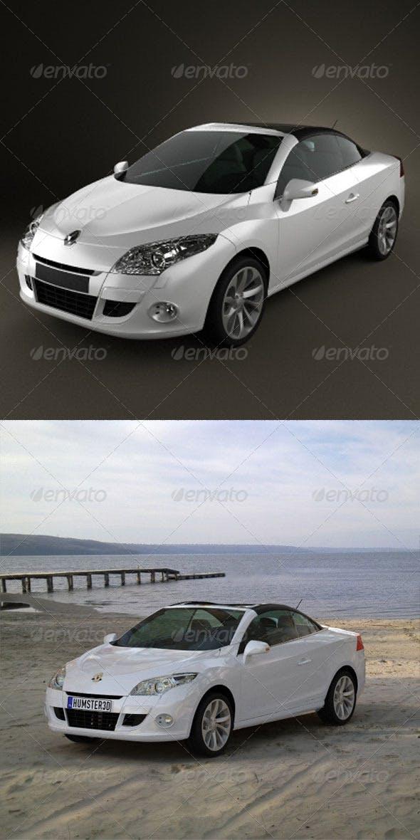 Renault Megane CC 2011  - 3DOcean Item for Sale