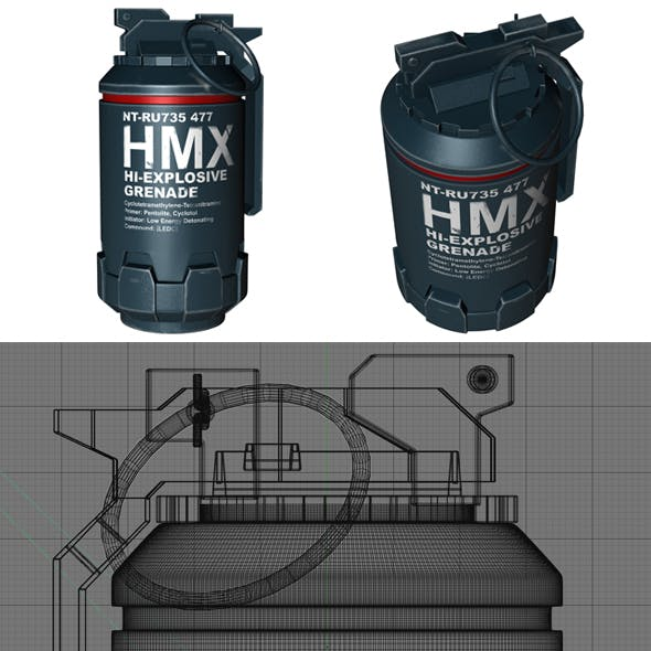 Grenade from Elysium movie