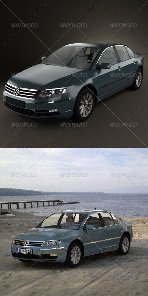 Volkswagen Phaeton 2011 - 3DOcean Item for Sale