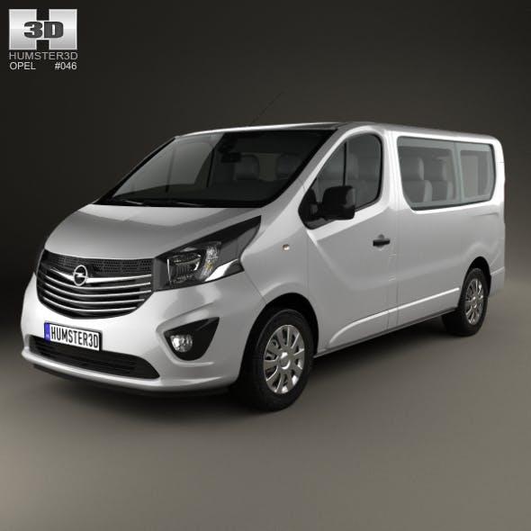 Opel Vivaro Passenger Van 2014 - 3DOcean Item for Sale