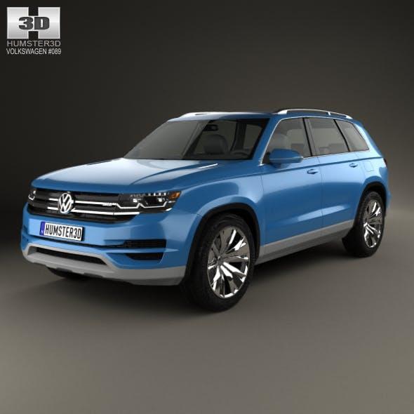 Volkswagen CrossBlue 2013